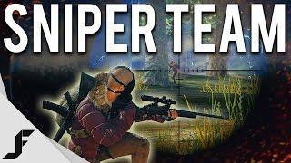 SNIPER TEAM - Battlegrounds