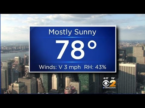 Evening Weather 8/28: Mostly Sunny & 78