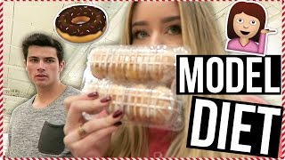 Victoria's Secret Model Diet! VLOGMAS Day 5!