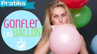Chimie facile - Comment gonfler un ballon rapidement