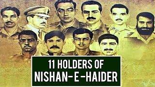 Pakistani heroes Who Got Nishan E Haider - TVN