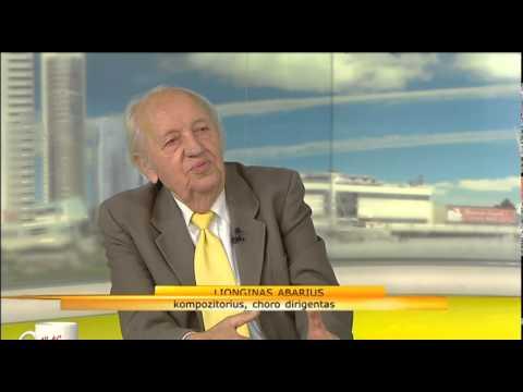 LRT valstybinio choro įkūrėjas, profesorius Lionginas Abarius (pokalbis studijoje)