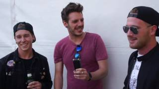 Sleeping With Sirens Interview Reading Festival 2016