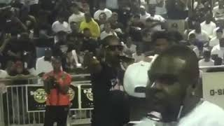 Safaree gets Booed by crowd in Nyc park!!!