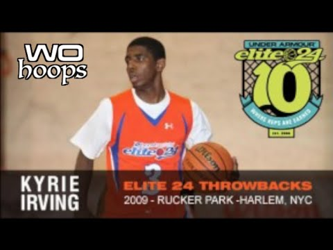 17 Year Old Kyrie Irving  