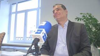 Rafael Correa vuelve a Ecuador