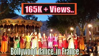 Bollywood dance..in France with french girls...
