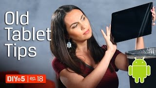 What to do with an old Android tablet 📱DIY in 5 Ep. 18