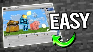 This Program Makes Animating Minecraft EASY | Animation For Beginners