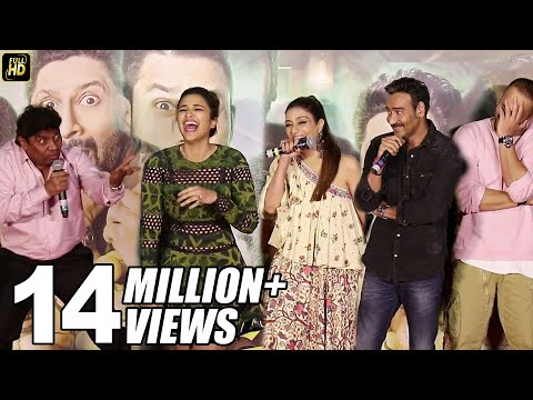 Xxx Mp4 Ajay Devgn Johnny Lever Parineeti Chopra FUNNY Moments At Golmaal Again Trailer Launch 3gp Sex