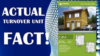 ACTUAL TURNOVER UNIT (Camella Easy Homes Series)