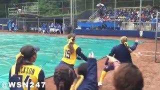 UCLA Softball vs Cal Softball - Rain Delay Dance-Off