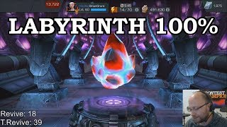 Labyrinth 100% Finale + Spidey Opening | Marvel Contest of Champions