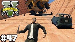 ÜBERLEBE DIE AUTO LAWINE - AVALANCHE (+DOWNLOAD) ! | GTA V CHALLENGES