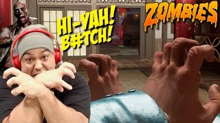 THIS B#TCH KARATE-CHOPPING ZOMBIES!! [NEW DLC!] [ZOMBIES /CONTINUUM] [COD: INFINITE WARFARE]