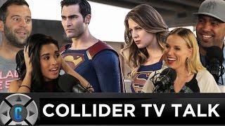 Supergirl Season 2 Premiere Review w/ Superman Debut, The Walking Dead Renewed - Collider TV Talk