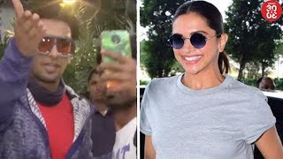 Ranveer Manhandles A Fan While Taking Selfie | Deepika Suffers Another Health Issue?