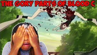 OMFG! Blood C - Gore Deaths | [REACTION]
