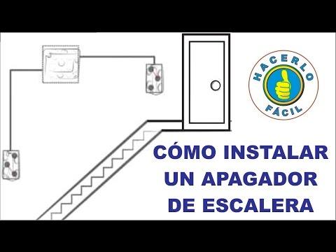 Cómo Instalar Un Apagador De Escalera Hacerlo Fácil