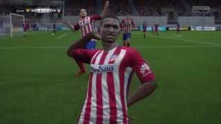 FIFA 16 Atletico Madrid Career Mode Episode 1 [Barcelona vs Atletico Madrid] Again   HD   [English]