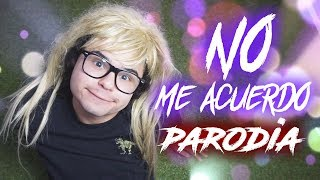 Thalía, Natti Natasha - No Me Acuerdo (PARODIA)