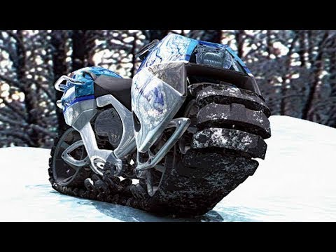10 COOLEST SNOW VEHICLES ON EARTH
