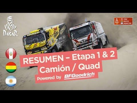 Xxx Mp4 Resumen Camiones Cuadriciclos SxS Etapas 1 2 Pisco Pisco Dakar 2018 3gp Sex