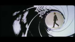 Timothy Dalton in From Russia With Love Gunbarrel