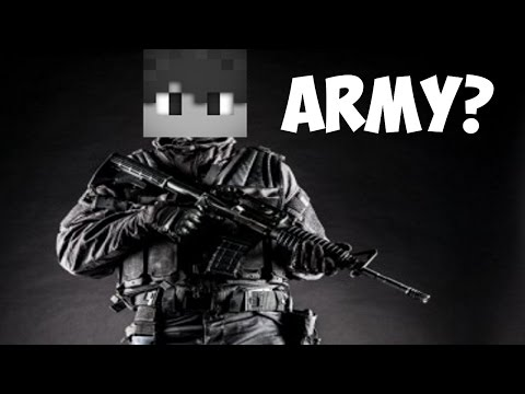 watch I am in THE ARMY ?!