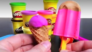 Play Doh Ice cream cupcakes playset playdough by Unboxingsurpriseegg New shorter version