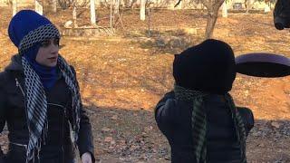 لعبة بوبجي عند بنات العرب 😁😂 .. جيفارا العلي