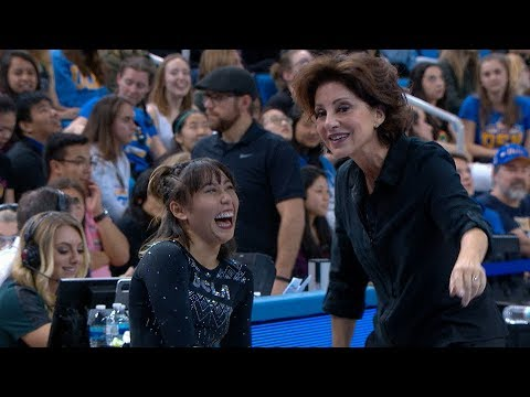 Highlight: UCLA's Katelyn Ohashi records perfect 10 on floor in Michael Jackson-themed routine