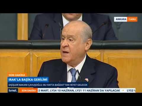 Bahçeli'den CHP'ye çok sert sözler.