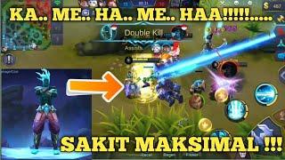 ASLI PARAH 100% SAKIT MAKSIMAL. KAMEHAMEHA MAUT DARI GORD!! - MOBILE LEGEND INDONESIA