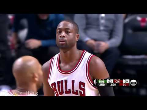 Dwyane Wade Full Highlights 2016 10 27 vs Celtics   22 Pts, 5 Ast, 4 Threes in Bulls Official Debut!