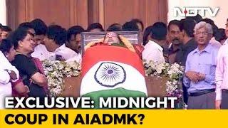 Sasikala Natarajan's Alleged Midnight Coup Stunned Jayalalithaa's Party