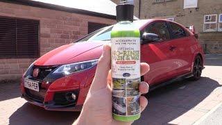 Red Hot Honda Civic Type R Rinseless Wash & Wax