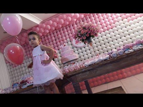 Vlog da minha festa de aniversário 4 anos
