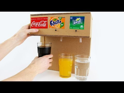 Xxx Mp4 How To Make Coca Cola Soda Fountain Machine With 3 Different Drinks At Home 3gp Sex