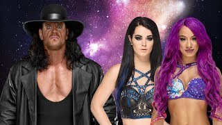 The Undertaker Vs  Sasha Banks and Paige | The Deadman Goes Crazy