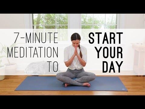 Xxx Mp4 7 Min Meditation To Start Your Day Yoga With Adriene 3gp Sex