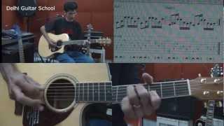 Pani da Rang - Guitar Lesson - Delhi Guitar School