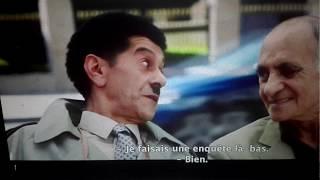 Souileh dans le rôle de l'inspecteur Tahar dans un film Marocain