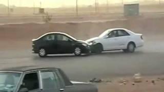 Compilacion1 -Accidentes locos arabes -Drift Extremo