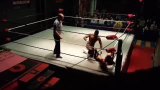JAH C (Gyasi) vs  Ace Perry 2/24/17 WCWO