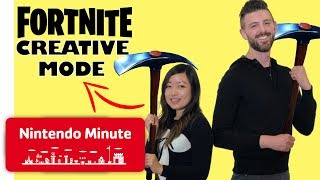 Our Fortnite Creative Mode Challenge - Nintendo Minute