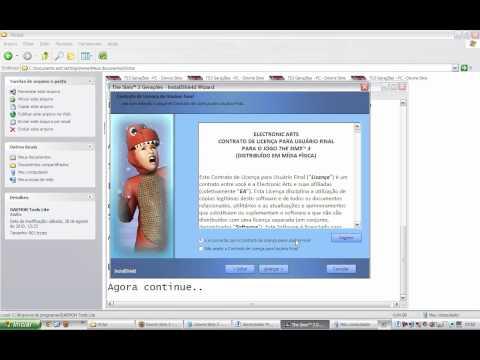 Video Aula Como Instalar o The Sims 3 Gerações Generations em HD