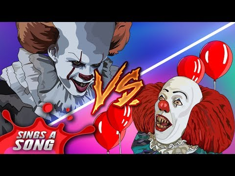 Xxx Mp4 Old Pennywise Vs New Pennywise Rap Battle IT Parody Tim Curry Vs Bill Skarsgard 3gp Sex