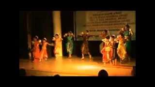 Moina Chalak Chalak Bengali Folk  Dance by Gyaneshwari Institute