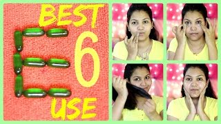 Top 6 Uses of Vitamin E Capsules for Skin and Hair Care